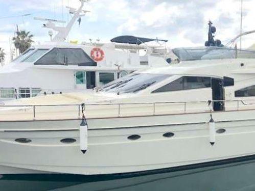 Motor boat Astondoa 72 (2012)