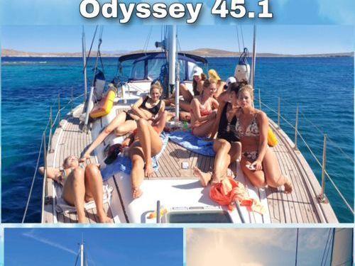 Sailboat Jeanneau Sun Odyssey 45.1 (2001)