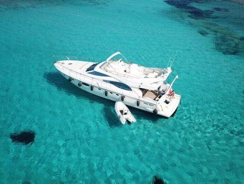 Motor boat Ferretti 590 (2003)