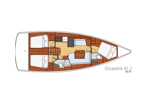 Sailboat Beneteau Oceanis 41.1 (2018) (2)