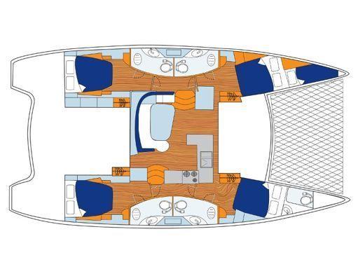 Catamaran Leopard Sunsail 454-10 (2019) (2)